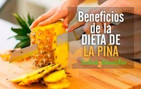 Dieta de la Piña y Beneficios del Consumo de Piña