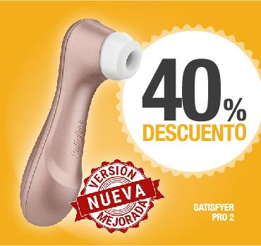 SATISFYER PRO 2 - 40% DESCUENTO