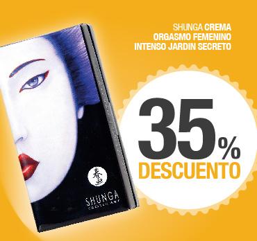 SHUNGA CREMA ORGASMO FEMENINO INTENSO JARDIN SECRETO - 35% DESCUENTO