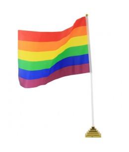 BANDERIN SOBREMESA ORGULLO LGBT - Imagen 1