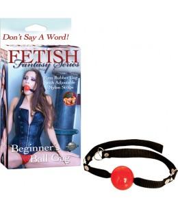 FETISH FANTASY MORDAZA PRINCIPIANTES RED - Imagen 1