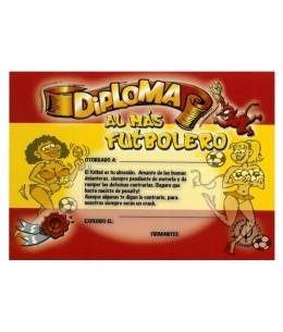 DIPLOMA AL FUTBOLERO ROJI-AMARILLO - Imagen 1