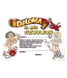 DIPLOMA AL FUTBOLERO BLANCO - Imagen 1
