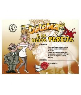 DIPLOMA A LA MEJOR PAREJA - Imagen 1