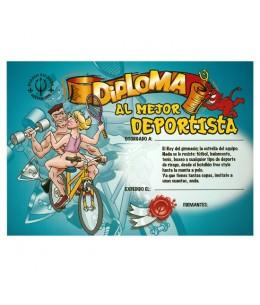 DIPLOMA AL MEJOR DEPORTISTA - Imagen 1