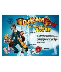 DIPLOMA AL MEJOR PADRE - Imagen 1