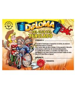 DIPLOMA JUBILADO - Imagen 1