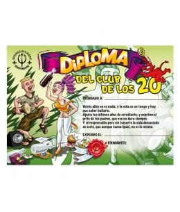 DIPLOMA 20 AÑOS - Imagen 1