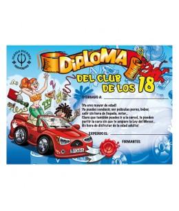 DIPLOMA 18 AÑOS - Imagen 1