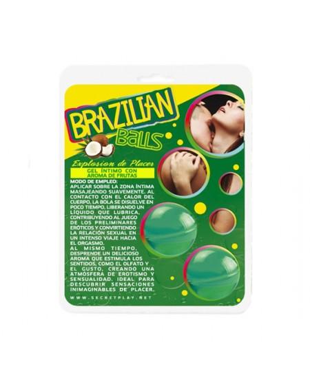 SECRET PLAY BRAZILIAN BALLS AROMA MENTA - Imagen 1