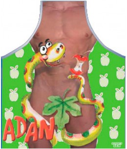 DELANTAL ADAN - Imagen 1