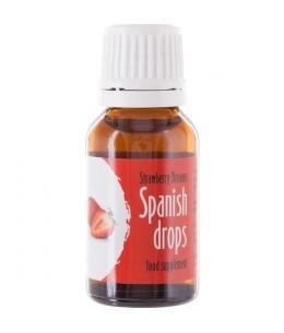 SPANISH FLY GOTAS DEL AMOR SUEÑOS DE FRESA - Imagen 1
