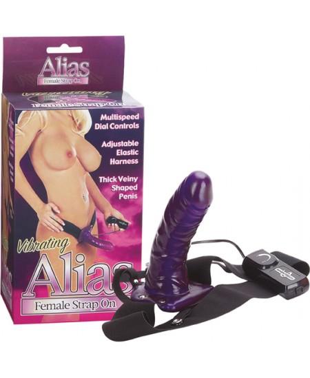 ALIAS VIBRATING FEMALE STRAP-ON - Imagen 1