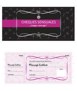 CHEQUES SENSUALES - Imagen 1