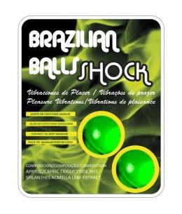 SET 2 BOLAS BRASILEÑAS CON LUBRICANTE - Imagen 1