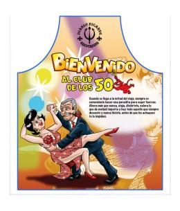 DELANTAL 50 AÑOS - Imagen 1
