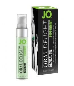 JO GEL EXCITADOR DE PLACER ORAL MENTA 30 ML - Imagen 1