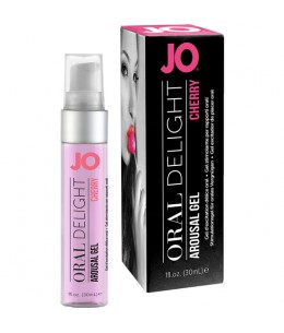 JO GEL EXCITADOR DE PLACER ORAL CEREZA 30 ML - Imagen 1