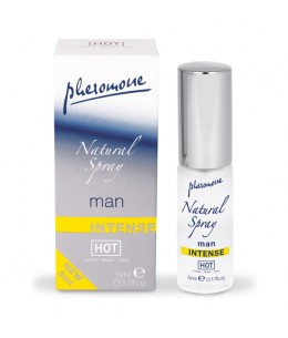 HOT SPRAY NATURAL DE FEROMONAS INTENSO PARA HOMBRES 5 ML - Imagen 1