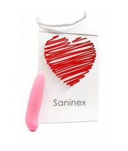 SANINEX MINI VIBRADOR MULTI EXCITING WOMAN COLOR ROSA - Imagen 1