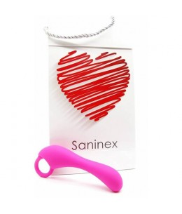 SANINEX ESTIMULADOR DUPLEX ORGASMIC ANAL SEX COLOR ROSA - Imagen 1