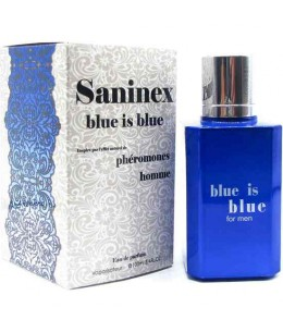 SANINEX PERFUME PHÉROMONES BLUE IS BLUE MEN - Imagen 1