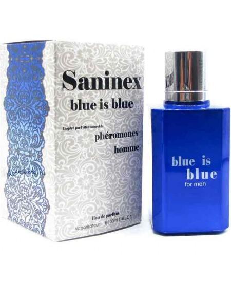 SANINEX PERFUME PHÉROMONES BLUE IS BLUE MEN - Imagen 1
