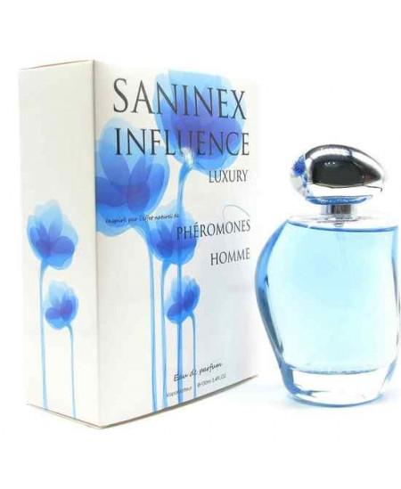 SANINEX PERFUME PHÉROMONES INFLUENCE MOD. LUXURY MEN - Imagen 1