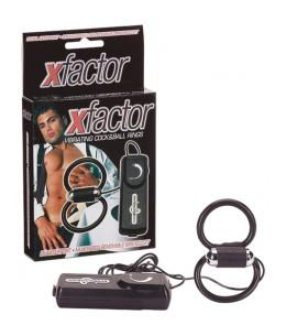 X-FACTOR DOBLE ANILLO VIBRADOR - Imagen 1