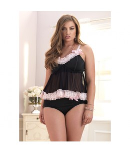 LEG AVENUE 2 PCS LOVE SET PLUS - Imagen 1