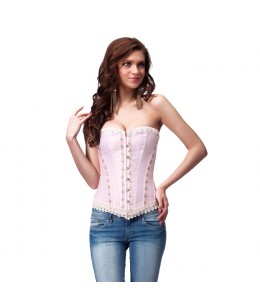 INTIMAX CORSET OLIMPO PINK - Imagen 1