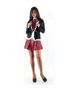 PICARESQUE - DISFRAZ COLLEGE GIRL NEGRO - Imagen 1