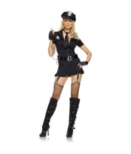 LEG AVENUE DISFRAZ FEMENINO POLICIA SEXY - Imagen 1