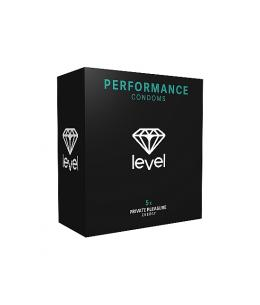 PRESERVATIVOS LEVEL PERFORMANCE CONDOMS - 5UDS - Imagen 1
