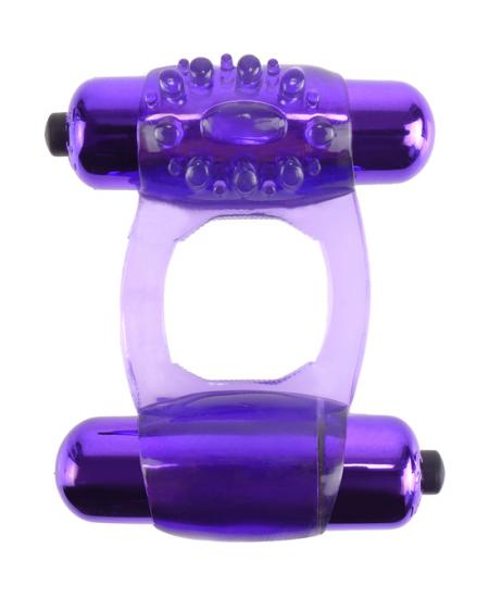 FANTASY C RING DUO VIBR SUPER RING MORADO - Imagen 1