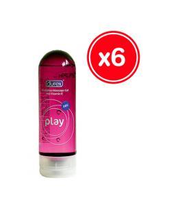 DUREX PLAY MASSAGE 200 ML (6 UDS) - Imagen 1