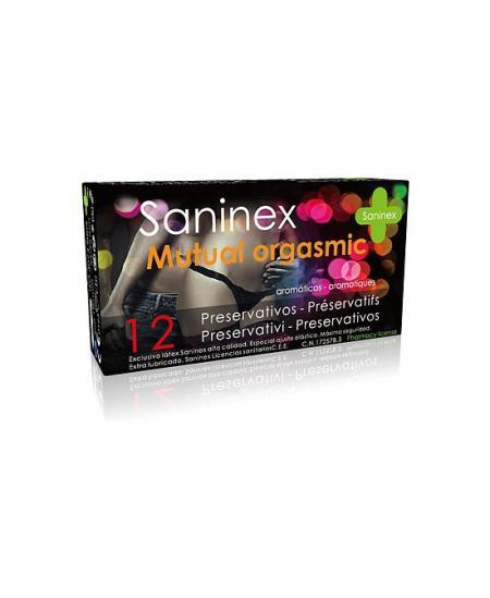 SANINEX PRESERVATIVOS MUTUAL ORGASMIC 12UDS - Imagen 1