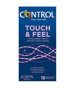 PRESERVATIVOS CONTROL TOUCH & FEEL 12UDS - Imagen 1