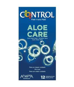 PRESERVATIVOS CONTROL NATURE ALOE CARE 12UDS - Imagen 1
