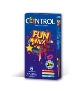 PRESERVATIVOS CONTROL FUN MIX 6UDS - Imagen 1