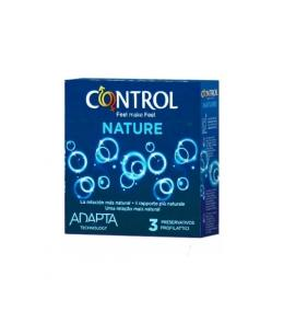 PRESERVATIVOS CONTROL NATURE 3UDS - Imagen 1