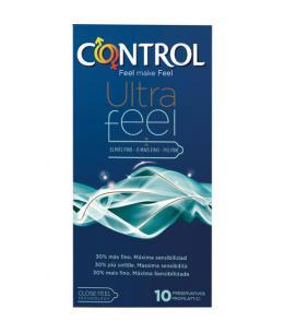 PRESERVATIVOS CONTROL ULTRAFEEL 10 UDS - Imagen 1