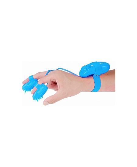 MAGIC TOUCH FINGER FUN - ESTIMULADOR DEDAL AZUL - Imagen 1