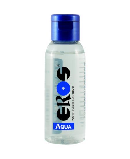 EROS AQUA WATER BASED LUBRICANT FLASCHE 50 ML - Imagen 1