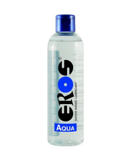 EROS AQUA WATER BASED LUBRICANT FLASCHE 250 ML - Imagen 1