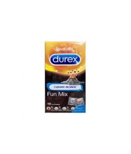 DUREX PRESERVATIVOS FUN MIX 10UDS - Imagen 1
