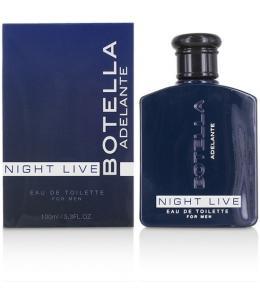 BOTELLA NIGHT LIVE PERFUME PARA HOMBRE 100ML - Imagen 1