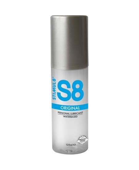 S8 LUBRICANTE BASE DE AGUA 125ML - Imagen 1
