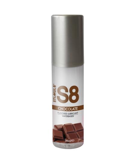 S8 LUBRICANTE SABORES 50ML - CHOCOLATE - Imagen 1