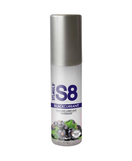 S8 LUBRICANTE SABORES 125ML - GROSELLA NEGRA - Imagen 1
